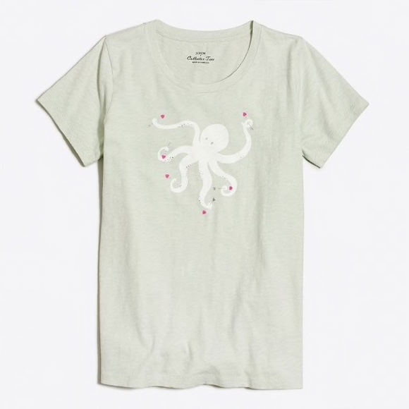 J. Crew Factory Tops - J.Crew Factory • Octopus Collector Tee